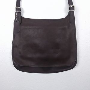 Vintage Coach Leather Messenger Bag
